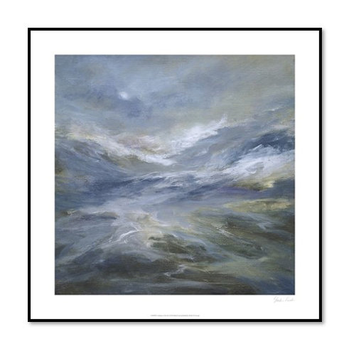 Calming of the Sea - Framed & Mounted Art