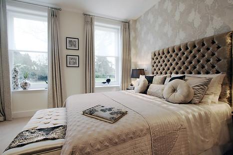 Blush Pink Bedroom Design