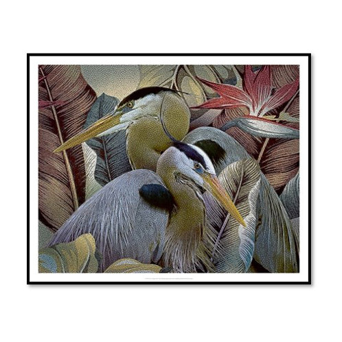 Two to Tango - Framed & Mounted Art
