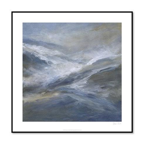 January Seas - Framed & Mounted Art
