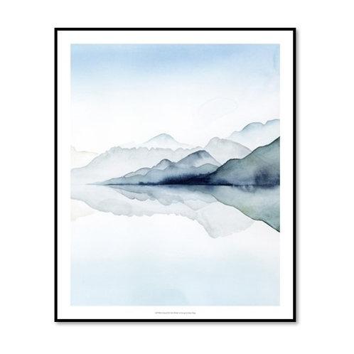 Glacial II - Framed & Mounted Art