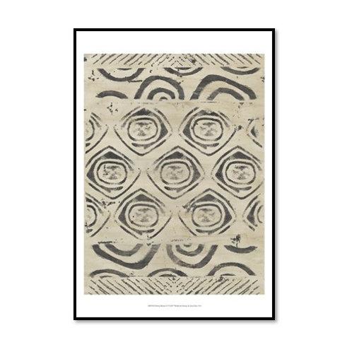 Pattern Bazaar VI - Framed & Mounted Art