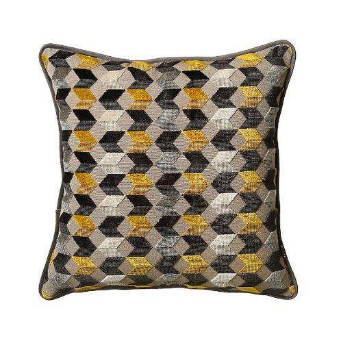 Kingsley 50x50cm Cushion, Saffron