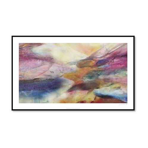 Expression Abstracta I - Framed & Mounted Art