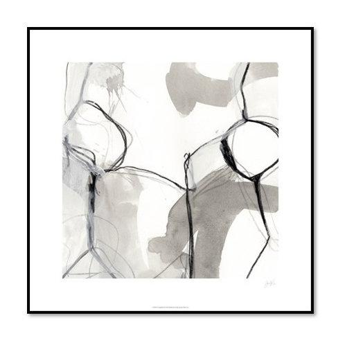 Modulate II - Framed & Mounted Art