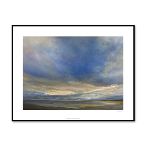 Clouds on the Bay II - Framed & Mounted Art