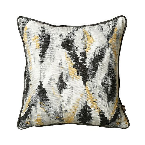 Dharma 54x54cm Cushion, Black