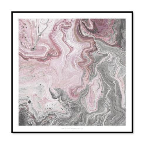 Blush Minerals I - Framed & Mounted Art