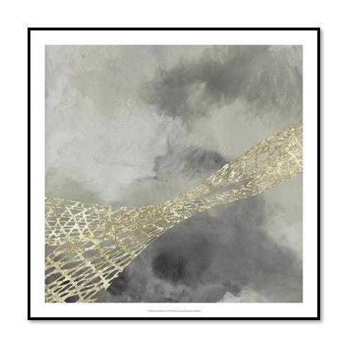 Cloud Matrix I - Framed & Mounted Art