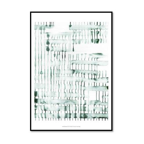 Barred I - Framed & Mounted Art