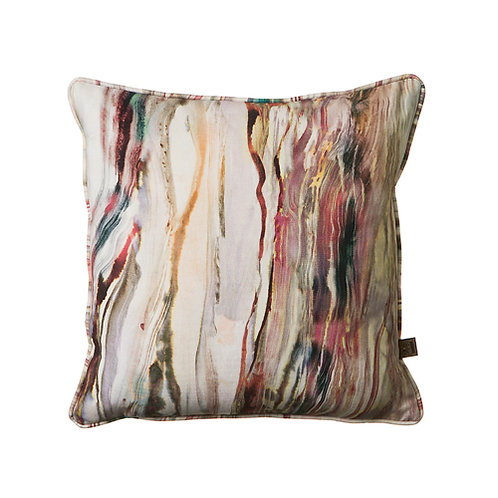 Marble 43x43cm Cushion, Mulberry