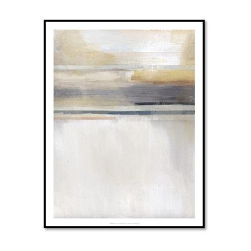 Sandy Coast II - Framed & Mounted Art
