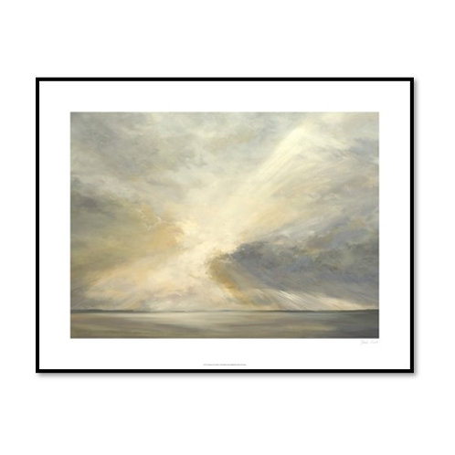 Sunrise on the Bay - Framed & Mounted Art