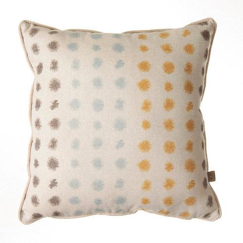Rosie Spot 54x54cm Cushion, Blue