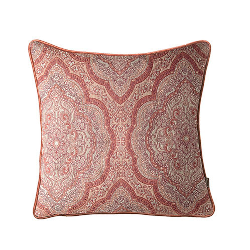Sheba Paisley 58x58cm Cushion, Rust