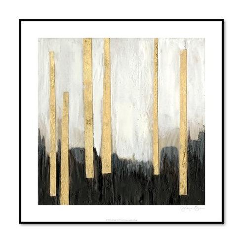 Gilt Treeline I - Framed & Mounted Art