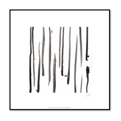 Monochrome Gestures IX - Framed & Mounted Art