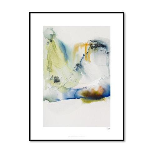 Abstract Terrain I - Framed & Mounted Art