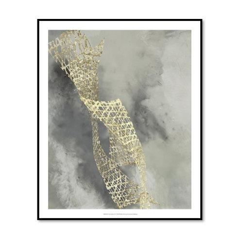 Cloud Matrix IV - Framed & Mounted Art
