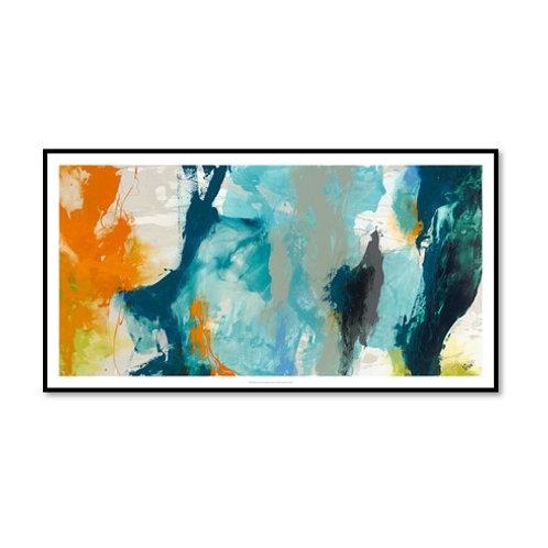 Tidal Abstract II - Framed & Mounted Art