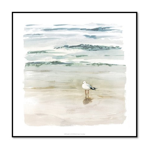 Seagull Cove II - Framed & Mounted Art