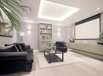 Cinema Room Design Chelsea