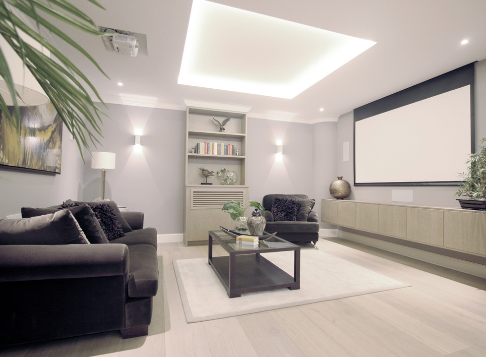 Cinema Room Design Chelsea