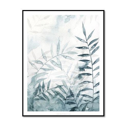 Bamboo Whisper II - Framed & Mounted Art