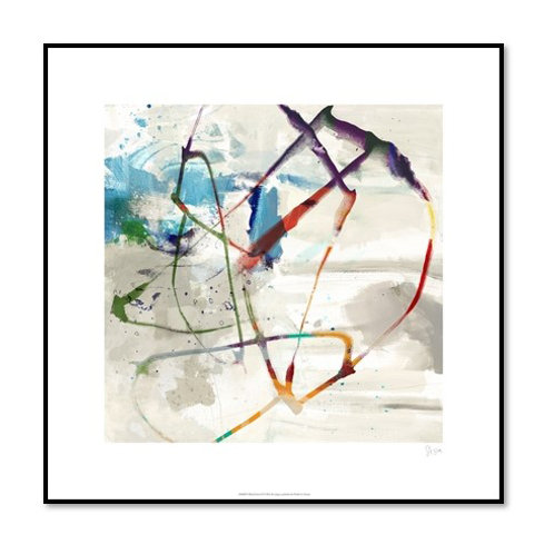 Playful Intent II - Framed & Mounted Art