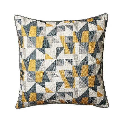 Synergy 45x45cm Cushion, Ochre