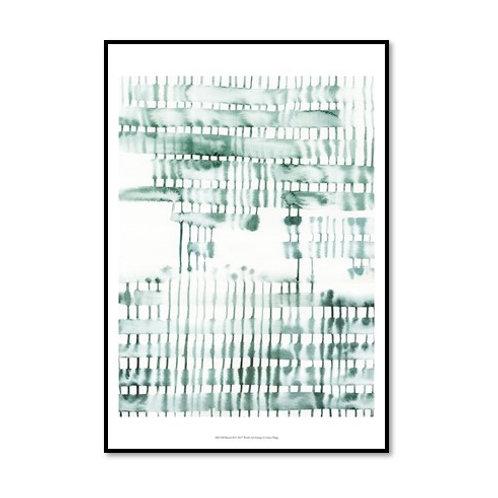 Barred II - Framed & Mounted Art