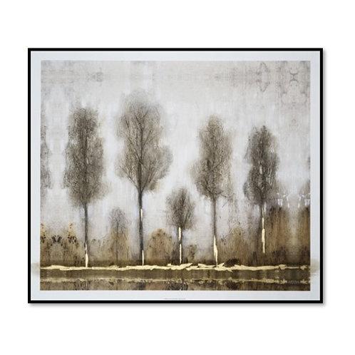 Gray Day I - Framed & Mounted Art