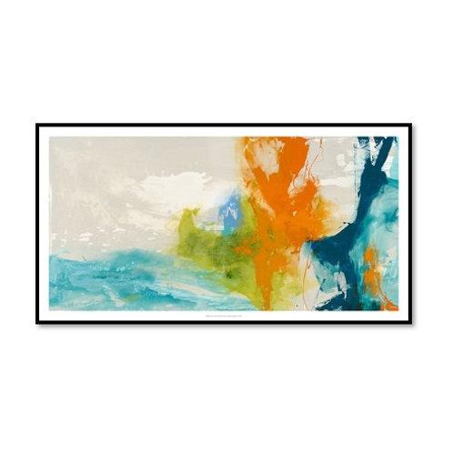 Tidal Abstract I - Framed & Mounted Art
