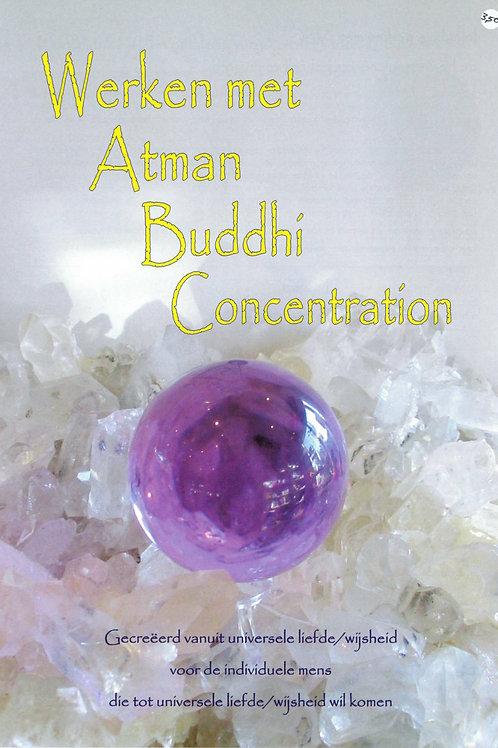 """Boekje """"Werken met Atman Buddhi Concentration"""""""