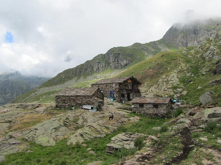 Alpe Gran Pra. Ciamousseretto valley