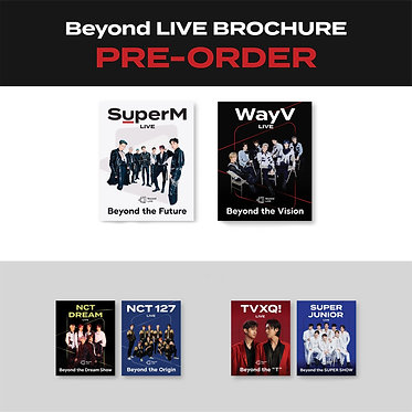SMTOWN's Beyond LIVE Brochure