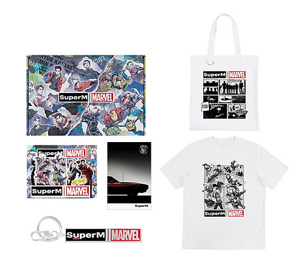 SUPERM x MARVEL's OFFICIAL Goods