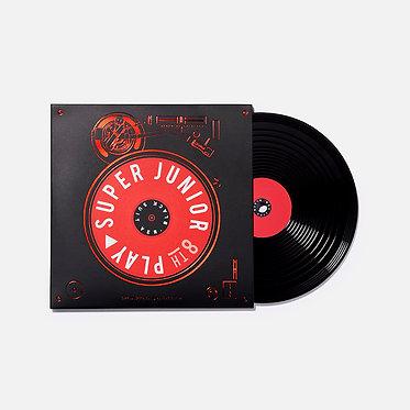 SUPER JUNIOR's LP Coaster