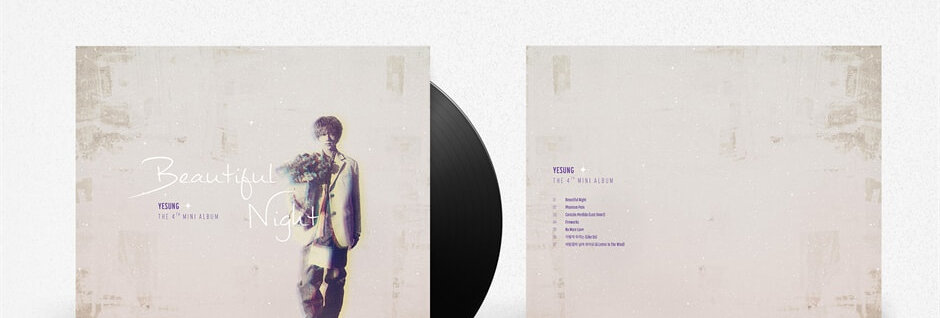 YESUNG; Beautiful Night (LP Ver.)