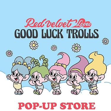 RED VELVET's RED VELVET Loves GOOD LUCK TROLLS POP-UP Store