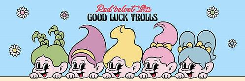 RED VELVET's RED VELVET Loves GOOD LUCK TROLLS Goods Ver.2.0