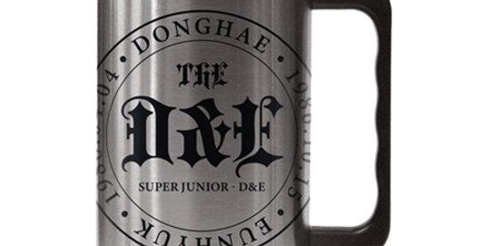 THE D&E Stainless Steel Big Mug