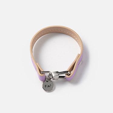 f(x) Leather Bracelet