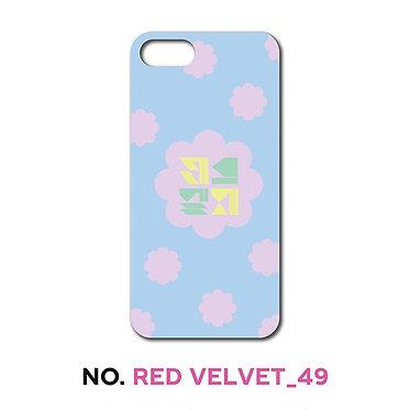 Red Velvet Typographic Phone Case