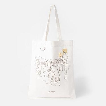APRIL, AN A FLOWER Ecobag