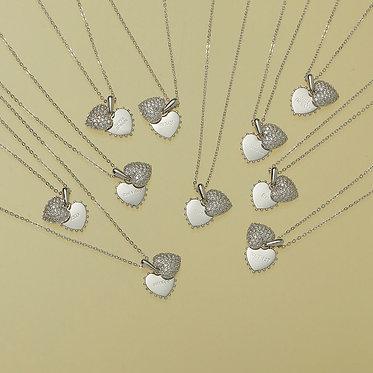 SMTOWN LOVELOVE Heart Pendant