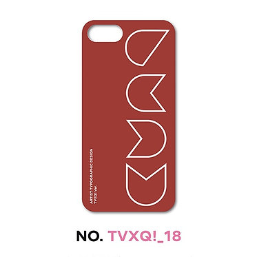 TVXQ! Typographic Phone Case