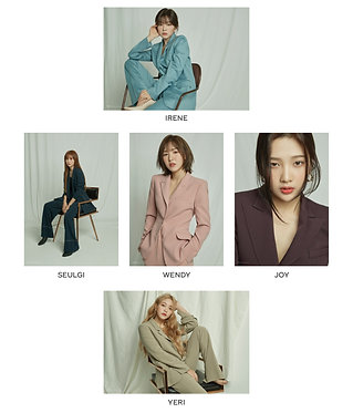 RED VELVET's 2020 Season Greeting A1 Poster