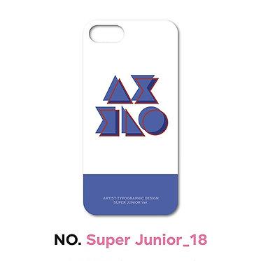 Super Junior Typographic Phone Case