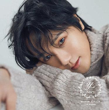 YESUNG's STORY Album (CD+Bluray)